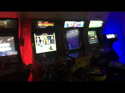 Arcade 1up game room 2020 from Coderedclips