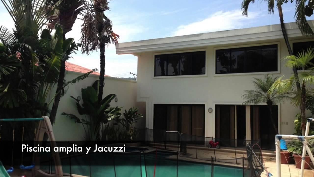 Casa en venta cdla los ceibos guayaquil ecuador youtube for Casas con piscina guayaquil