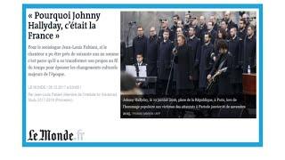 "Gambar cover ""Johnny Hallyday, c'était la France"""