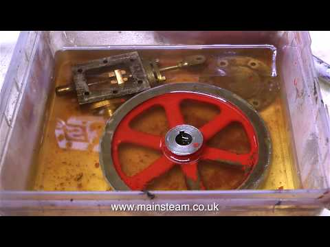 HOW TO RESTORE A STUART NUMBER 4 MODEL STEAM ENGINE
