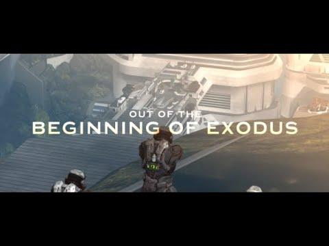 Trick/Glitch Halo Reach - Sortir du début d'Exode (sous-titres FR)