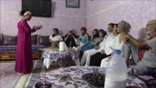 Bouchra présente Jorf et projet de campement dans la palmeraie