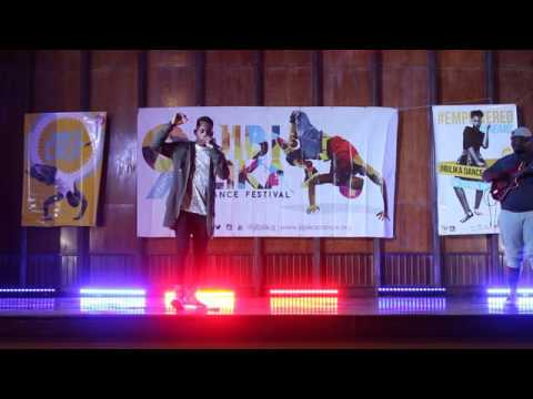 Probeatz Beatboxer and Sylent Nqo perform at Jibilika Fest 2016, Mutare