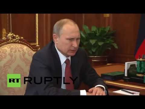 Russia: Putin discusses boosted oil output with environment minister