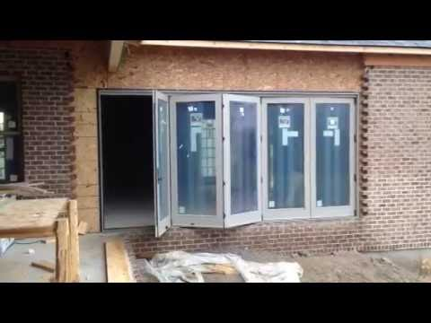 Andersen Folding Outswing Door Youtube