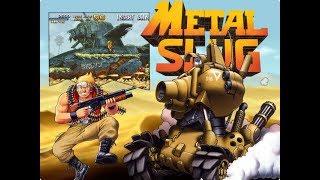 Metal Slug: Super Vehicle-001. Arcade [Прохождение / Walkthrough]