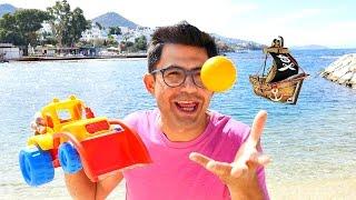 Korsan oyunları - sandık saklıyoruz. Denizde çocuk oyunları