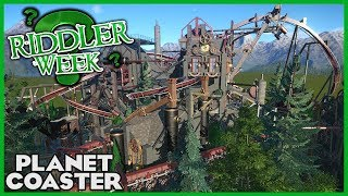 THE FACTORY! Riddler Week Day 7! Coaster Spotlight 288 #PlanetCoaster