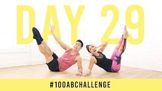 Day 29: 100 Side Seals! | #100AbChallenge w/ Alex Wong