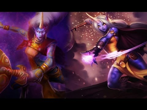 Soraka Visual Update - League of Legends (Old and New ...