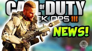 Black Ops 3: MULTIPLAYER NEWS! Stopping Power Attachment, Hacking, Bolt Action Snipers & New Melee