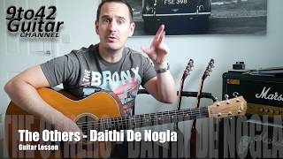 How to play The others Daithi De Nola Guitar Lesson Tutorial