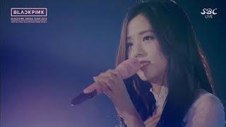 JISOO (BLACKPINK) - YUKI NO HANA (SNOW FLOWER) | 2018 ARENA TOUR [IN KYOCERA DOME] OSAKA