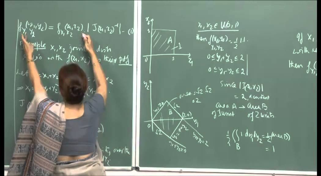 Mod-01 Lec-15 Conditional disti, Joint distr. of functions of r. v., Order statistics