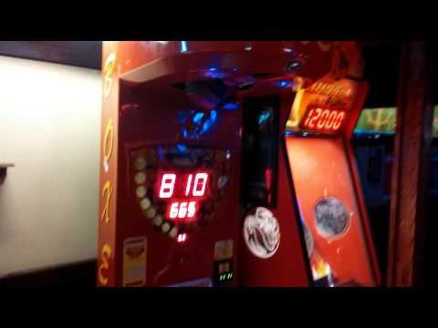 punch machine score