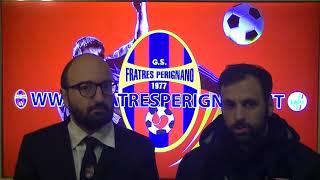 Interviste post partita Fratres Perignano - Albinia