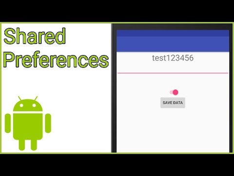 How To Save Variables In SharedPreferences - Android Studio Tutorial