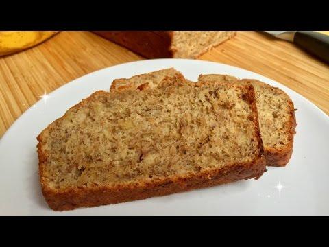 Super Easy Banana Bread - TEN Ingredients - ONE Bowl - BIG Flavor