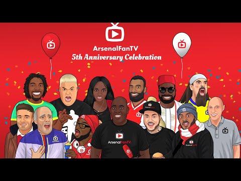 Arsenalfan tv 5th anniversary live