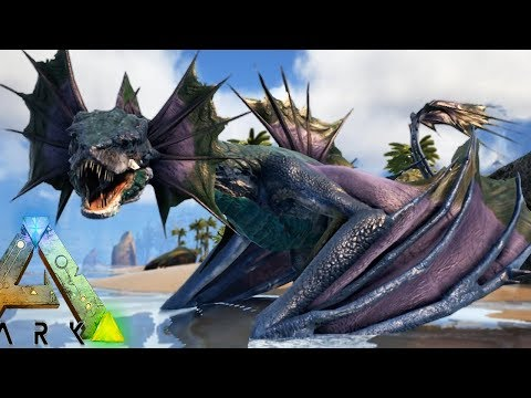 YES WE FINALLY HAVE A WATER WYVERN w/ HYRDRO CANNON! - Ark Survival Evolved Modded Gameplay