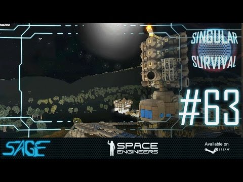 Space Engineers, Scout Drone Chase (Singular Survival, Ep 63)