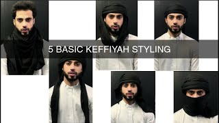 5 Basic Shemagh Stỳle   How To Tie Shemagh/Headscarf Tutorial #5