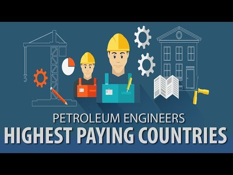 Highest Paying Countries For Petroleum Engineers (Petroleum Engineering Salary)