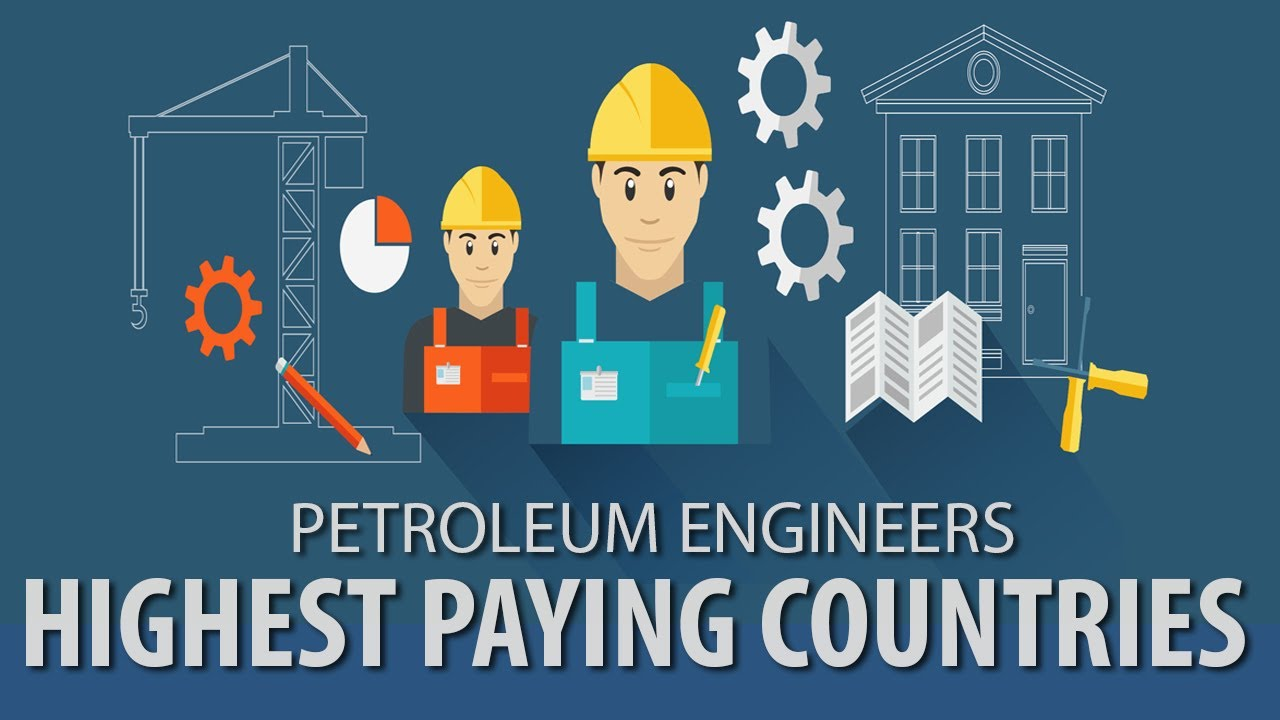 Highest Paying Countries For Petroleum Engineers Petroleum Engineering Salary Youtube
