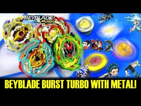 MOD: The First Ever METAL Beyblade Burst Turbo Beyblades
