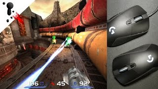 Quake Live - Logitech G403 Full Highlights + Extra Gameplay