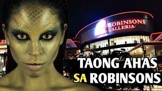 ANG TAONG AHAS SA ROBINSONS GALLERIA | ANG MAITIM NA SEKRETO NG ROBINSONS MALL