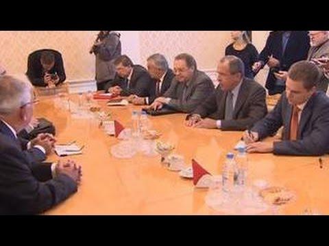 Лавров: Москва призвала сирийцев сесть за стол переговоров