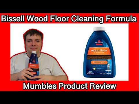 Bissell Wood Floor Cleaning Formula - Mumbles Product Review with Photos