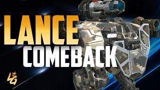 War Robots Lance Comeback | Stronger Better Deadlier