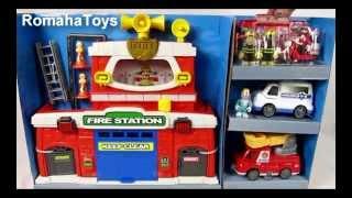 Обзор игрушки Игровой набор Пожарный участок K12636 Keenway(Обзор игрушки Игровой набор Пожарный участок K12636 Keenway В комплект входит: пожарный участок, пожарная машина,..., 2015-02-21T19:55:33.000Z)