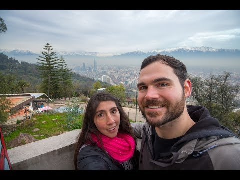 The BEST viewpoint in Santiago - Cerro San Cristobal, Chile
