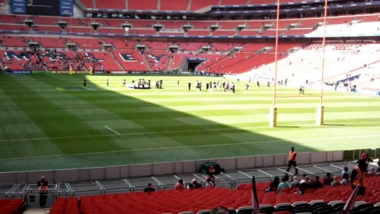 wembley stadium quick view from row 39 best youtube. Black Bedroom Furniture Sets. Home Design Ideas