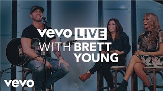 Brett Young - Vevo Live at CMA Awards 2017 - Brett Young