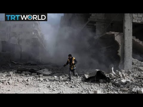 The War in Syria: Regime accused of gas attack on eastern Ghouta