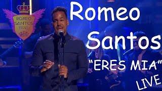 Romeo Santos - Eres Mia (The tonight Show) Live Oficial HD