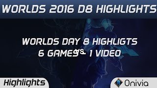 IM vs FW | C9 vs SKT | C9 vs FW | SKT vs IM | IM vs C9 | FW vs SKT Worlds 2016 D8 Highlights
