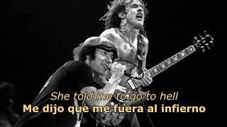 Скачать Shot Down In Flames Español Inglés AC DC