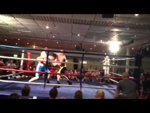 Rory Bennett Boxing Kinmel Manor - Round 1