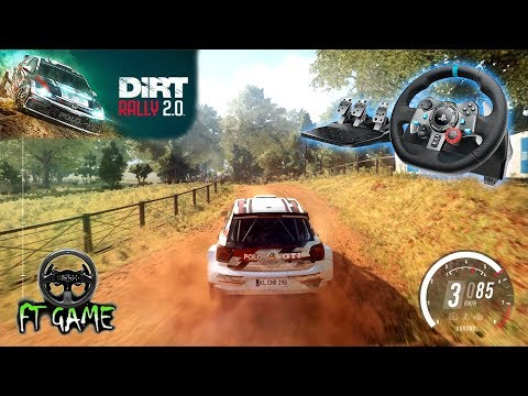 Dirt Rally 2.0 Gameplay and Logitech G29 & G920 Settings!