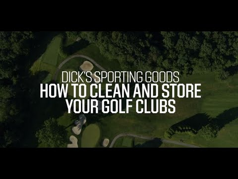 How To Clean And Store Your Golf Clubs