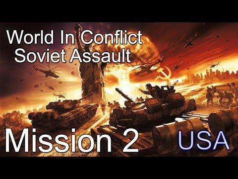 "World in Conflict Soviet Assault Mission 2 ""Invasion!"""