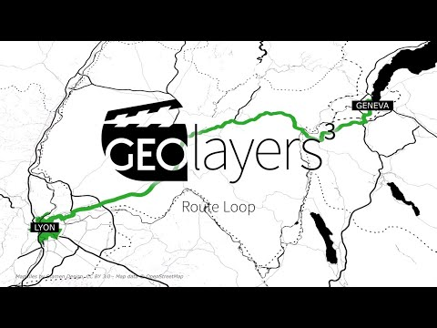 GEOlayers 3 Tutorial: Route Loop thumbnail