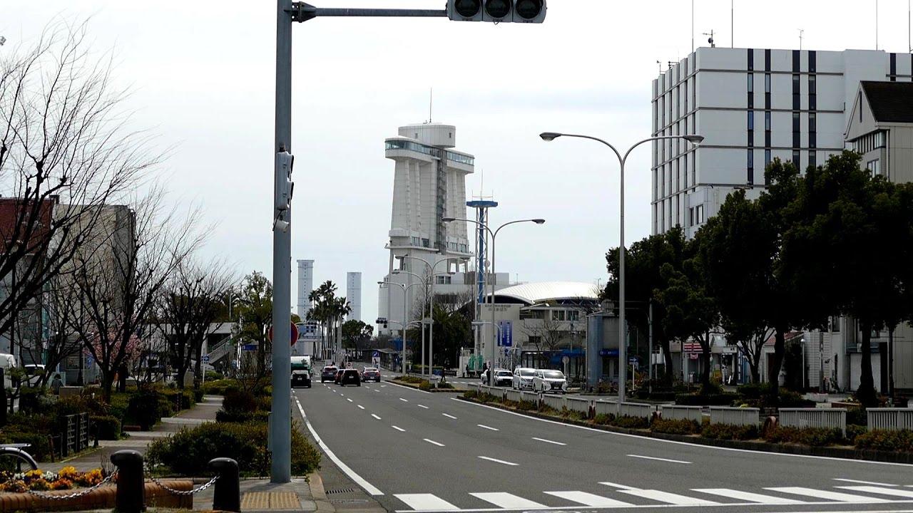 """名古屋港 """"ガーデン埠頭駐車場"""" ..."""