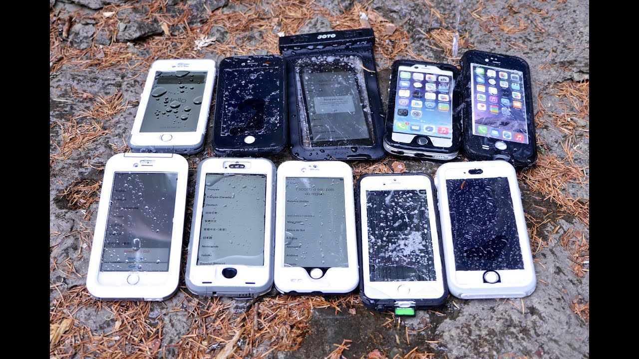 Top 10 Waterproof iPhone 6 Cases Test - Most Durable iPhone 6 Waterproof  Case?