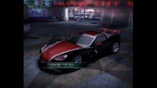 NFS Carbon Corvette Z06 Stacked Deck tuning